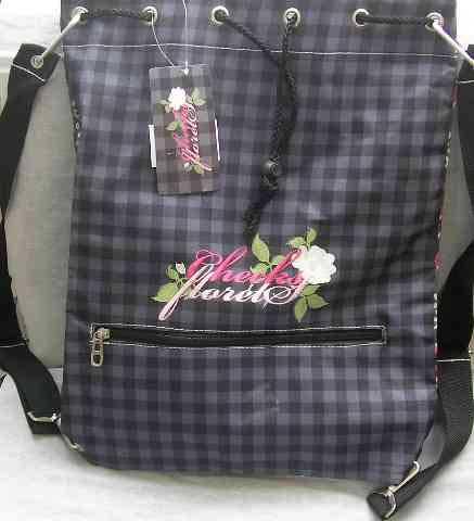 Сумка-мешок молодежный ERICH KRAUSE Country bloom (модель Bag Sack...